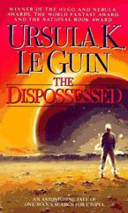 Cover of The Dispossessed.