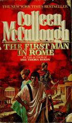 Cover of The First Man in Rome.