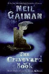 Cover of The Graveyard Book.