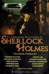 Cover of The Improbable Adventures of Sherlock Holmes.
