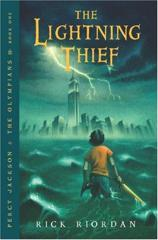 Cover of The Lightning Thief.