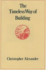 Cover of The Timeless Way of Building.