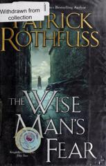 Cover of The Wise Man's Fear.