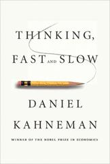 Cover of Thinking, Fast and Slow.