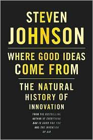 Cover of Where Good Ideas Come from.