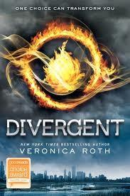Cover of Divergent.
